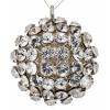 Swarovski Pendant 40519 Round 19mm Silvershade Crystal